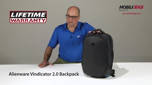 Mobile Edge Alienware Vindicator 2.0 Laptop Backpacks - image 10 from the video