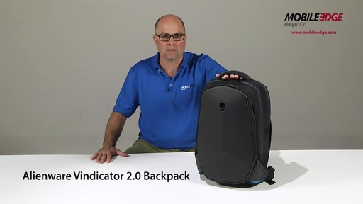 Mobile Edge Alienware Vindicator 2.0 Laptop Backpacks - image 2 from the video