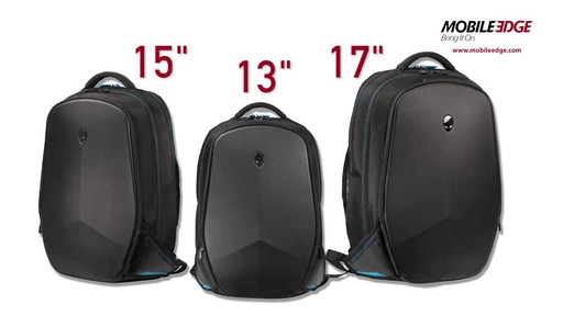 Mobile Edge Alienware Vindicator 2.0 Laptop Backpacks - image 9 from the video