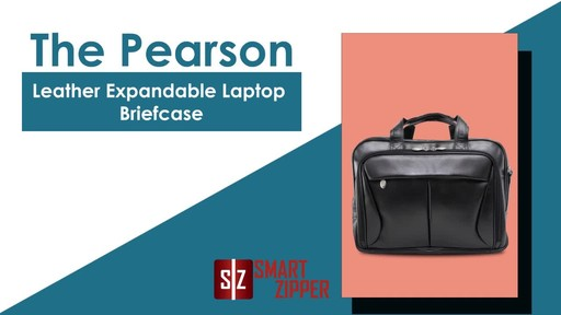 McKlein USA Pearson Leather Expandable 15.4