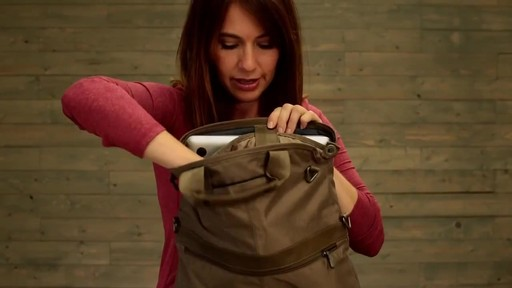 Eagle Creek Convertible Laptop Handbag - image 9 from the video