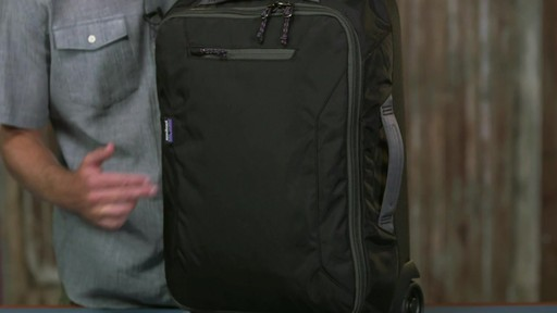 34f093eaae Patagonia Headway Wheeled Duffel 35L - image 8 from the video