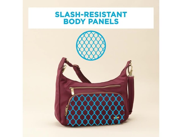 Travelon Anti-Theft Front Pocket Crossbody Bag with RFID - Exclusive - image 1 from the video