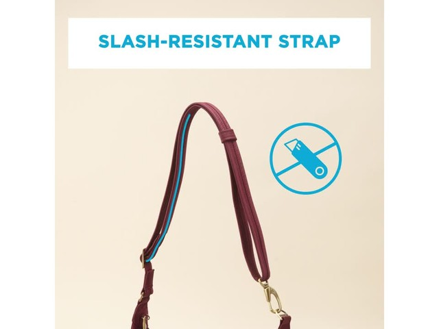 Travelon Anti-Theft Front Pocket Crossbody Bag with RFID - Exclusive - image 2 from the video