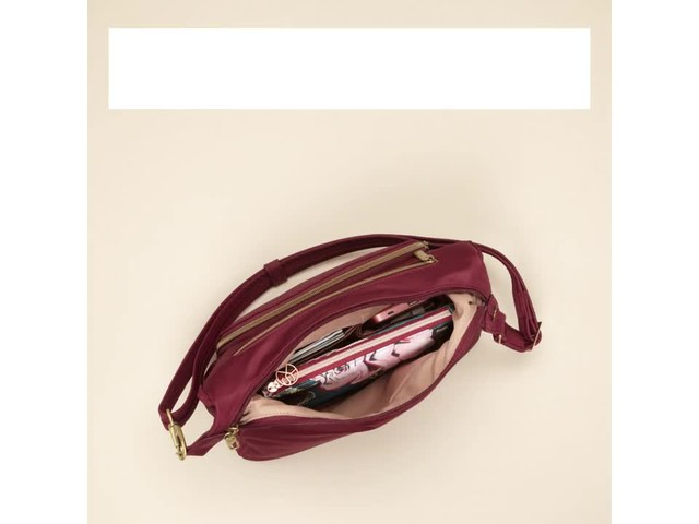 Travelon Anti-Theft Front Pocket Crossbody Bag with RFID - Exclusive - image 7 from the video
