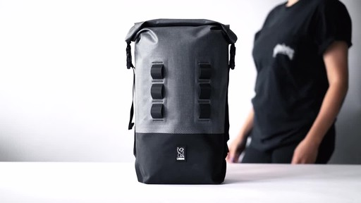 Chrome Industries Urban Ex Rolltop 18L Backpack - image 1 from the video