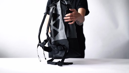 Chrome Industries Urban Ex Rolltop 18L Backpack - image 2 from the video