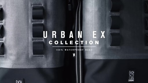 Chrome Industries Urban Ex Rolltop 18L Backpack - image 9 from the video