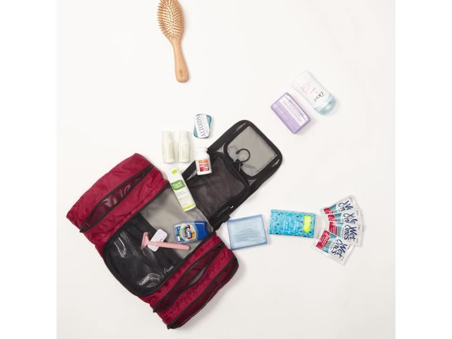 eBags Pack-it-Flat Toiletry Kit - image 2 from the video