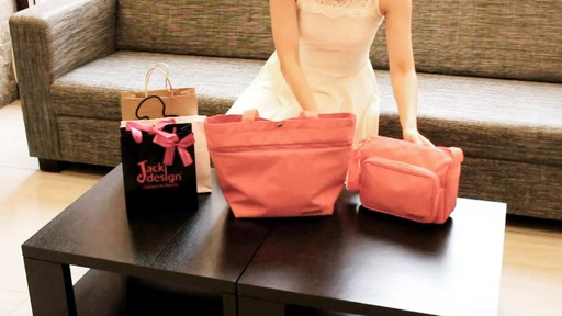 Jacki Design New Essential Expandable Rolling Shopping Grocery Bag - eBags.com - image 2 from the video