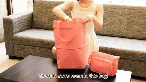 Jacki Design New Essential Expandable Rolling Shopping Grocery Bag - eBags.com - image 6 from the video