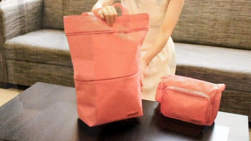 Jacki Design New Essential Expandable Rolling Shopping Grocery Bag - eBags.com - image 7 from the video