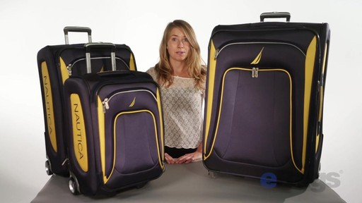 Nautica Charter 3 Piece Luggage Set - eBags.com - image 2 from the video
