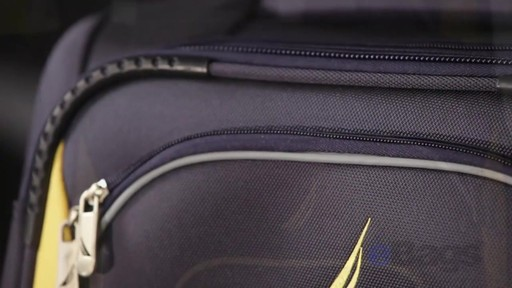 Nautica Charter 3 Piece Luggage Set - eBags.com - image 3 from the video