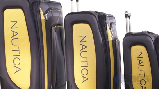 Nautica Charter 3 Piece Luggage Set - eBags.com - image 5 from the video