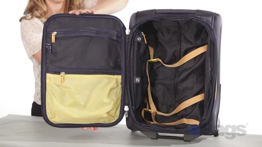 Nautica Charter 3 Piece Luggage Set - eBags.com - image 7 from the video
