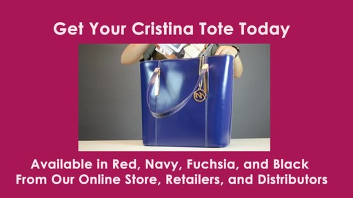 McKlein USA Cristina Tote - image 10 from the video