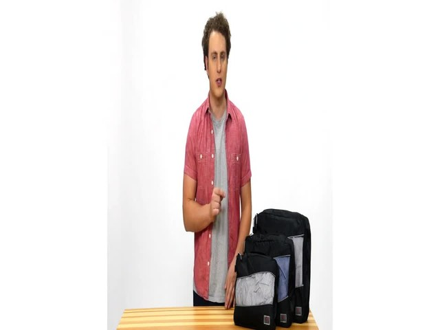 Suvelle 3-Piece Set of Luggage Organizer Packing Cubes - image 1 from the video