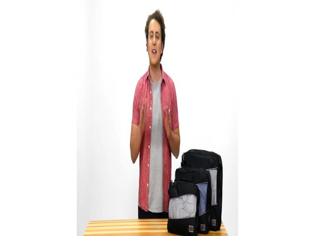 Suvelle 3-Piece Set of Luggage Organizer Packing Cubes - image 10 from the video
