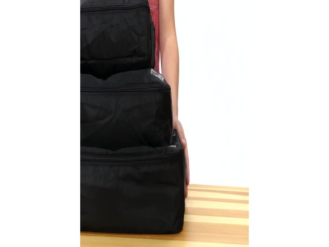 Suvelle 3-Piece Set of Luggage Organizer Packing Cubes - image 8 from the video