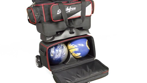 KR Strikeforce Bowling LR4 4-Ball Roller Bag - eBags.com - image 4 from the video