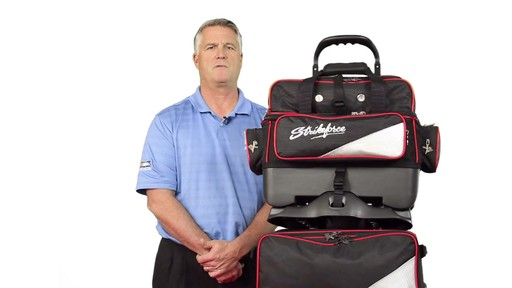 KR Strikeforce Bowling LR4 4-Ball Roller Bag - eBags.com - image 5 from the video