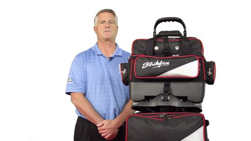 KR Strikeforce Bowling LR4 4-Ball Roller Bag - eBags.com - image 8 from the video