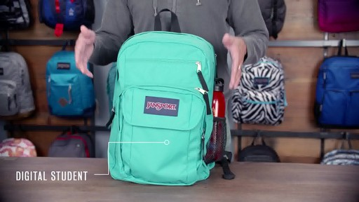JanSport - Digital Student Laptop Backpack - image 10 from the video