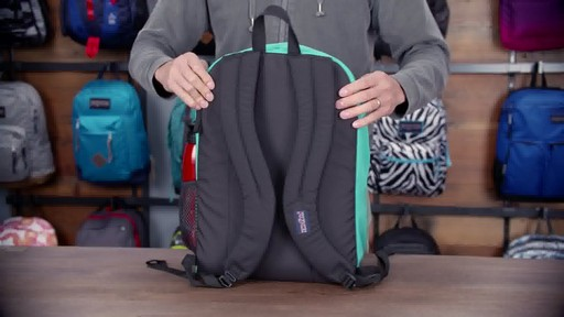JanSport - Digital Student Laptop Backpack - image 3 from the video