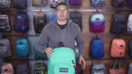 JanSport - Digital Student Laptop Backpack - image 5 from the video
