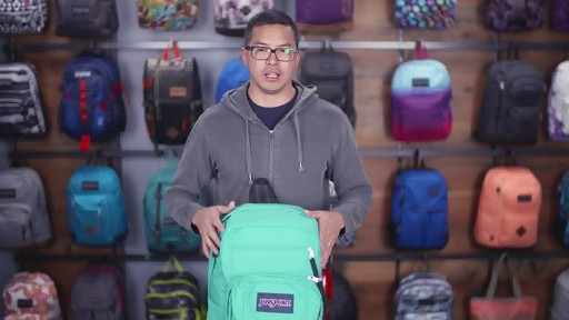 JanSport - Digital Student Laptop Backpack - image 6 from the video