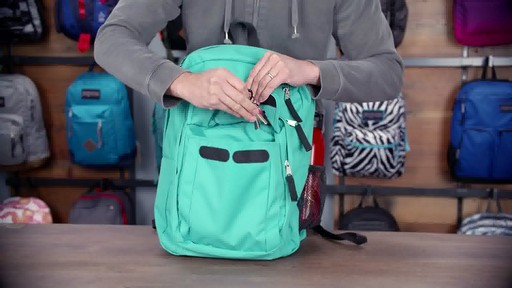 JanSport - Digital Student Laptop Backpack - image 8 from the video