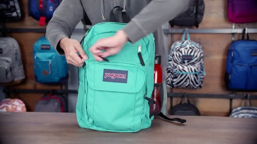 JanSport - Digital Student Laptop Backpack - image 9 from the video