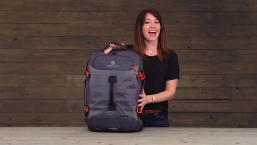 Eagle Creek Expanse Hauler Duffel - image 10 from the video