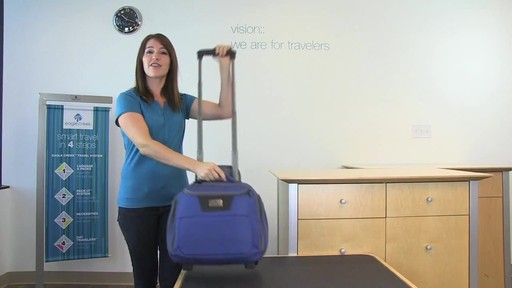 Eagle Creek Travel Gateway Wheeled Tote - image 10 from the video