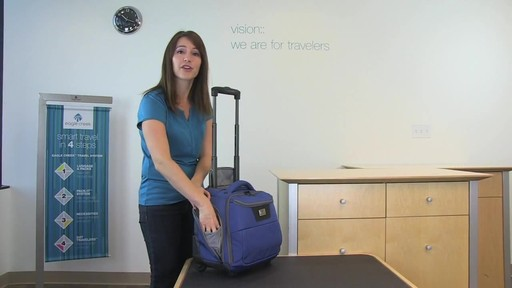 Eagle Creek Travel Gateway Wheeled Tote - image 3 from the video
