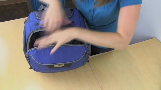 Eagle Creek Travel Gateway Wheeled Tote - image 8 from the video