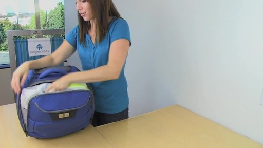 Eagle Creek Travel Gateway Wheeled Tote - image 9 from the video