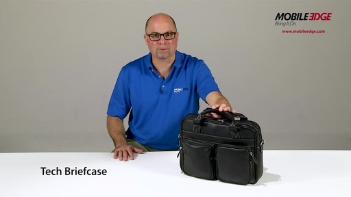 Mobile Edge Tech Briefcase - image 1 from the video