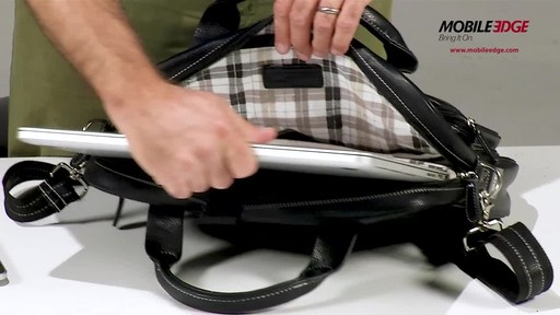 Mobile Edge Tech Briefcase - image 4 from the video