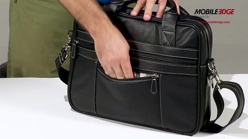 Mobile Edge Tech Briefcase - image 7 from the video