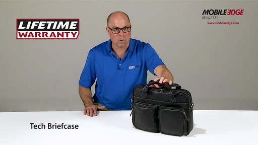 Mobile Edge Tech Briefcase - image 9 from the video