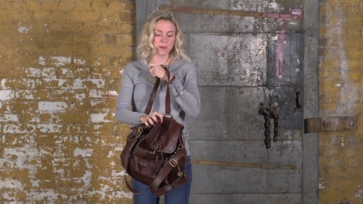 The Sak - Mariposa Convertible Backpack - image 2 from the video