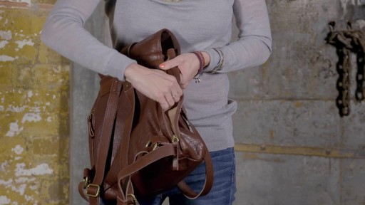 The Sak - Mariposa Convertible Backpack - image 5 from the video