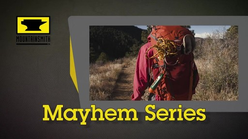 Mountainsmith Mayhem Hiking Backpacks - image 1 from the video