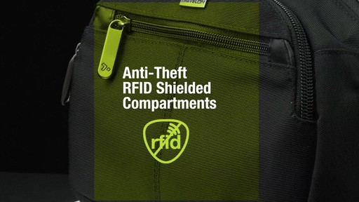 Travelon Anti-Theft Concealed Carry Waist Pack - Shop eBags.com - image 7 from the video