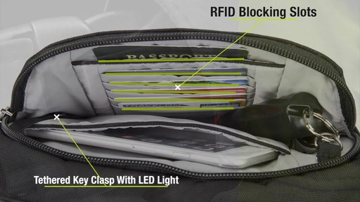 Travelon Anti-Theft Concealed Carry Waist Pack - Shop eBags.com - image 8 from the video