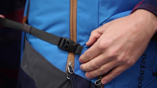 Patagonia Chacubuco Pack 32L - on eBags.com - image 7 from the video