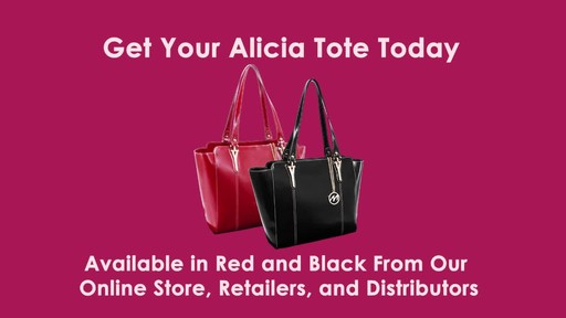 McKlein USA Alicia Tote - image 10 from the video