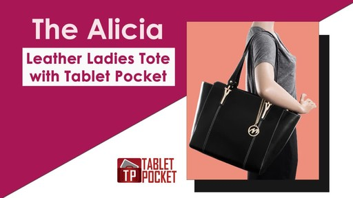 McKlein USA Alicia Tote - image 2 from the video